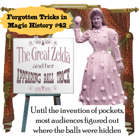 The Appearing Ball Trick