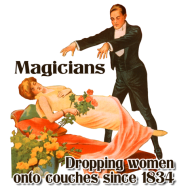 Dropping Women Onto Couches